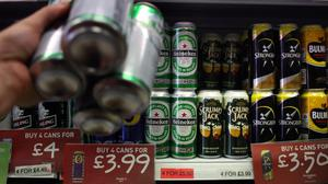 Alcohol can be bought for as little as 16p a unit, researchers have found