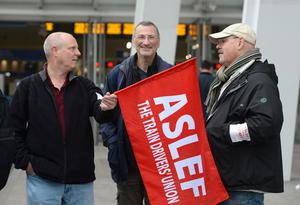 The Aslef union has called for a ban on driver overtime (Victoria Jones/PA)