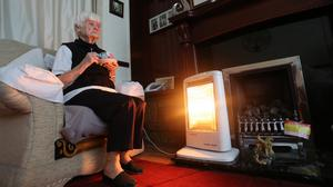 The amount spent on crisis grants to help people with the cost of heating has increased by 15% (Peter Byrne/PA)