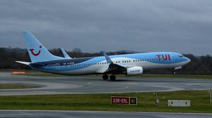 TUI and Boeing have agreed a compensation deal (Peter Byrne/PA Wire)