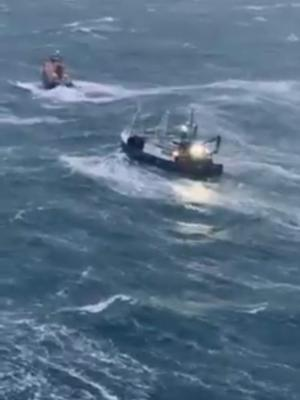 The fishing vessel got into difficulty on Sunday (MCA/PA)
