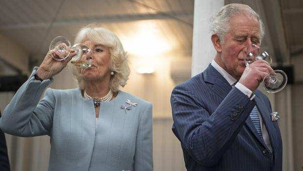The royals were also treated to a wine tasting event at The Hunting Lodge Winery in Auckland (Victoria Jones/PA)