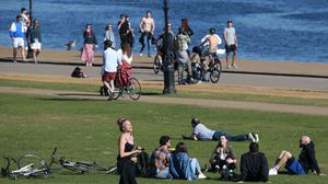 Public told to stay indoors this bank holiday despite soaring temperatures (Jonathan Brady/PA)