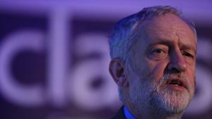 """Mr Corbyn has pledged to block Article 50 if Labour's """"Brexit bottom line"""" is not met"""