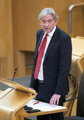 Scottish Labour leader Richard Leonard asked about possible restrictions on testing (Jane Barlow/PA)