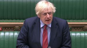 Boris Johnson defended police stop and search powers (House of Commons/PA)