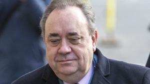 Alex Salmond has denied all of the charges against him (Jane Barlow/PA)
