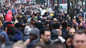 The number of people moving to the UK long term from non-EU countries has hit a new record high, according to the latest ONS estimates (Isabel Infantes/PA)