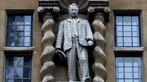 Oxford City Council has invited Oriel College to apply for planning permission to remove the statue (Steve Parsons/PA)