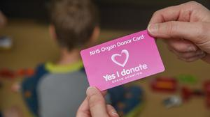 A new law means most adults will be assumed to be organ donors (NHS Blood and Transplant/PA)