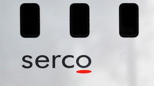 Serco boss Rupert Soames slashed the company's profits guidance for this year and next