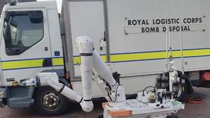 The Army's bomb squad were called in to make the suspicious devices safe. (West Midlands Police/PA)
