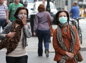 Wearing facemasks was also suggested (Dave Thompson/PA)