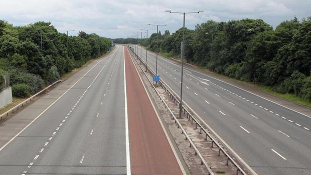 The incident happened on the M1 Motorway last year.