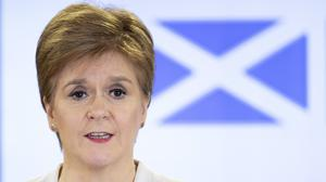 Scotland's First Minister Nicola Sturgeon has called on people to come together to shape Scotland's future after the pandemic (Jane Barlow/PA)