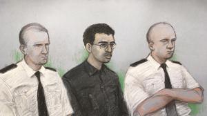 Hashem Abedi, younger brother of the Manchester Arena bomber, in the dock at the Old Bailey in London (Elizabeth Cook/PA)