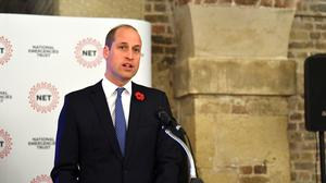 The National Emergencies Trust is supported by the Duke of Cambridge (Victoria Jones/PA)