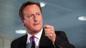 """David Cameron acknowledged that some members of his team have """"long-standing views"""" about Europe"""