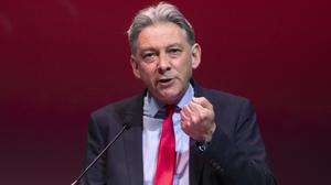 Scottish Labour leader Richard Leonard said the party is opposed to a second independence referendum (Jane Barlow/PA)