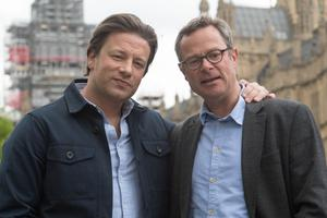Jamie Oliver (left) and Hugh Fearnley-Whittingstall are backing calls for a review (Stefan Rousseau/PA)