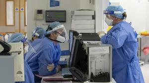 The Government said a further 1,041 people had died after testing positive for Covid-19 (Peter Byrne/PA Wire)