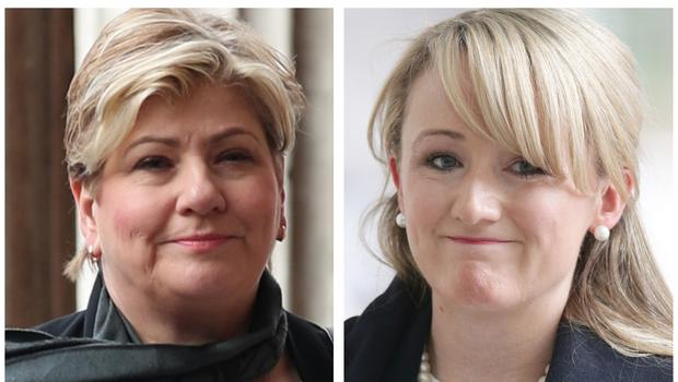 Emily Thornberry and Rebecca Long-Bailey will launch their campaigns for the Labour leadership (PA)
