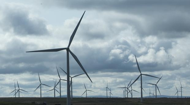Scotland's renewable energy expertise is being exported across the globe (Danny Lawson/PA)
