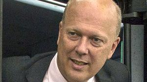 Chris Grayling said the GBP 13.8 million contract for Seaborne Freight was an example of support for new businesses (Victoria Jones/PA)