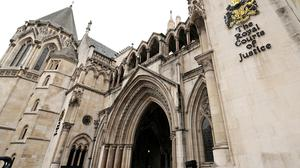 A father of six was barred from entering the street where he lived as a result of legal proceedings he knew nothing about, the High Court heard