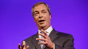 Ukip leader Nigel Farage has denied claiming to be the target of an assassination attempt