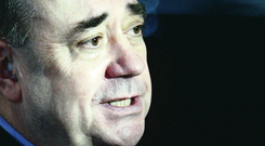 Alex Salmond claims Tories, Labour and Lib Dems are rowing back on pledges