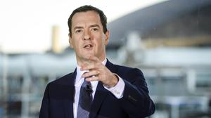 George Osborne will warn of the threats facing the global economy