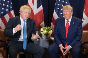 Boris Johnson has already warned Donald Trump not to get involved in the General Election campaign (Stefan Rousseau/PA)