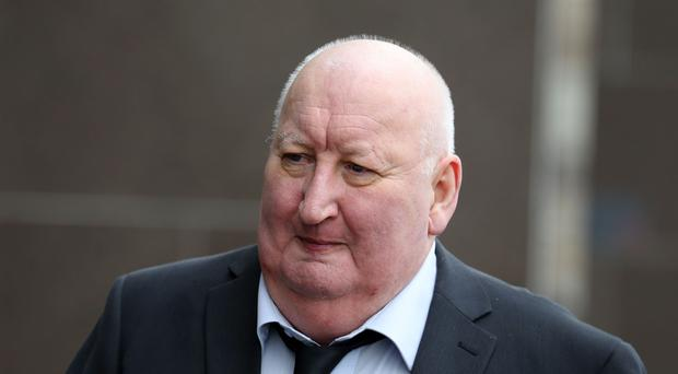 Harry Clarke, the driver of a bin lorry which crashed killing six people in 2014, outside Glasgow (Andrew Milligan/PA)