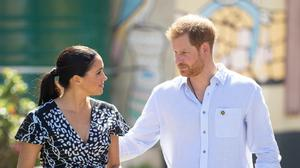 The Duke and Duchess of Sussex is ceasing co-operation with four British tabloid newspapers (Dominic Lipinski/PA)