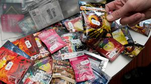 "The number of deaths involving legal highs remains ""very small"" compared with those linked to illegal drugs such as heroin and cocaine"