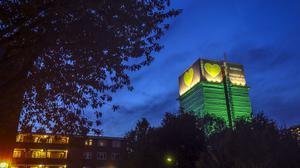 Grenfell Tower in west London (Steve Parsons/PA)