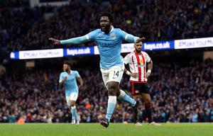 Bony joined Manchester City two years ago, but has now returned to Swansea (Martin Rickett/PA)