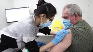No 10 has confirmed all over-50s should have had a coronavirus vaccination by May (Yui Mok/PA)