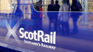 ScotRail is to reduce services after demand fell by 30% since Monday because of the coronavirus (Jane Barlow/PA)