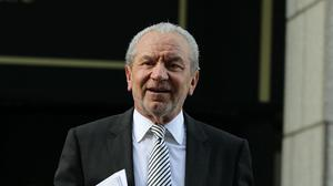 Lord Sugar opened a new college in north London
