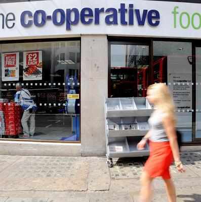Midcounties Co-operative operates Co-op branded food stores