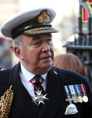 Admiral Lord West, a former chief of naval staff, said the Royal Navy should protect UK waters from foreign fishing vessels if asked to do so in a no-deal Brexit scenario (Jonathan Brady/PA)