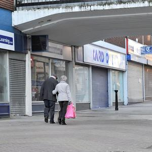 A study warned that 62,000 shops would fold in the next five years