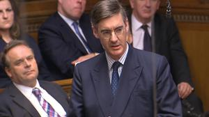 Jacob Rees-Mogg said any senior minister thinking about a leadership challenge would be doing his own chances a great deal of damage (PA Archive)