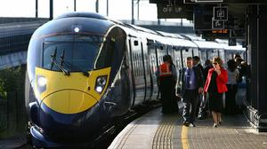 The high-speed rail link between Leeds and Manchester is aimed at resuscitating the North of England's economy