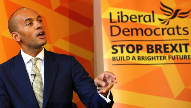 Chuka Umunna unveils the Liberal Democrat party's Plan for Equalities and Human Rights (Aaron Chown/PA)