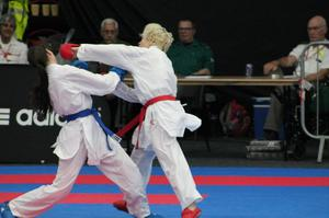 Karate champion Mairi Kerin feared her martial arts career would be over after she was diagnosed with a heart condition (Sophie Peck/PA)