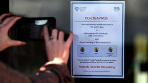 There are now 227 confirmed positive cases of Covid-19 across Scotland (Andrew Milligan/PA)