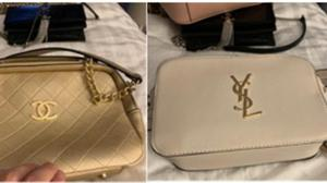 Stolen handbags found on a phone belonging to Thomas Mee (Cheshire Constabulary/PA)
